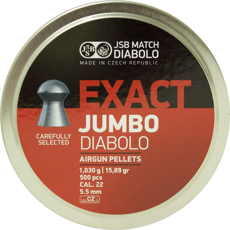 JSB JSB Exact Pellets .22cal 5.52mm Pack of 15 000 / 30 Tins