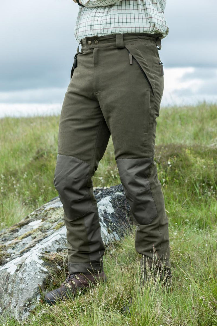Hoggs of Fife Kincraig W/P Field Trousers  Olive Green