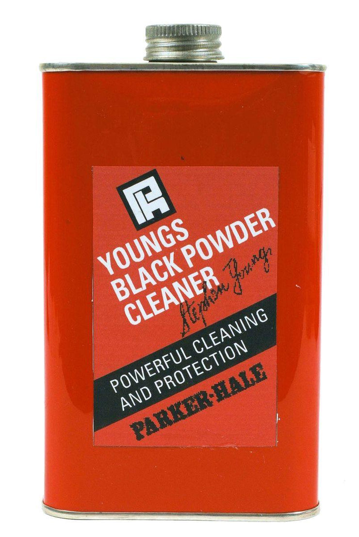 Parker Hale 500ml Screw Tin Youngs Black Powder Cleaner