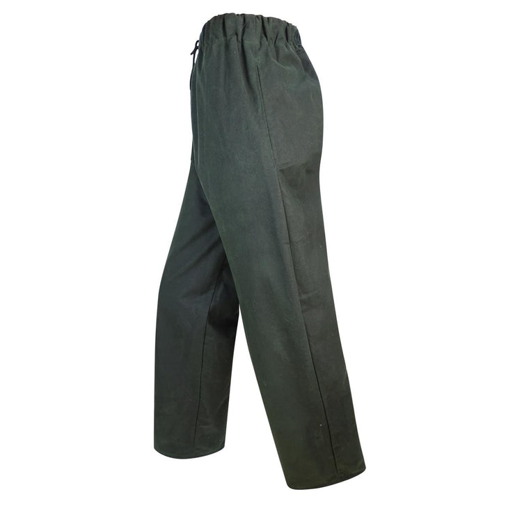 Hoggs of Fife Waxed Overtrousers  Olive