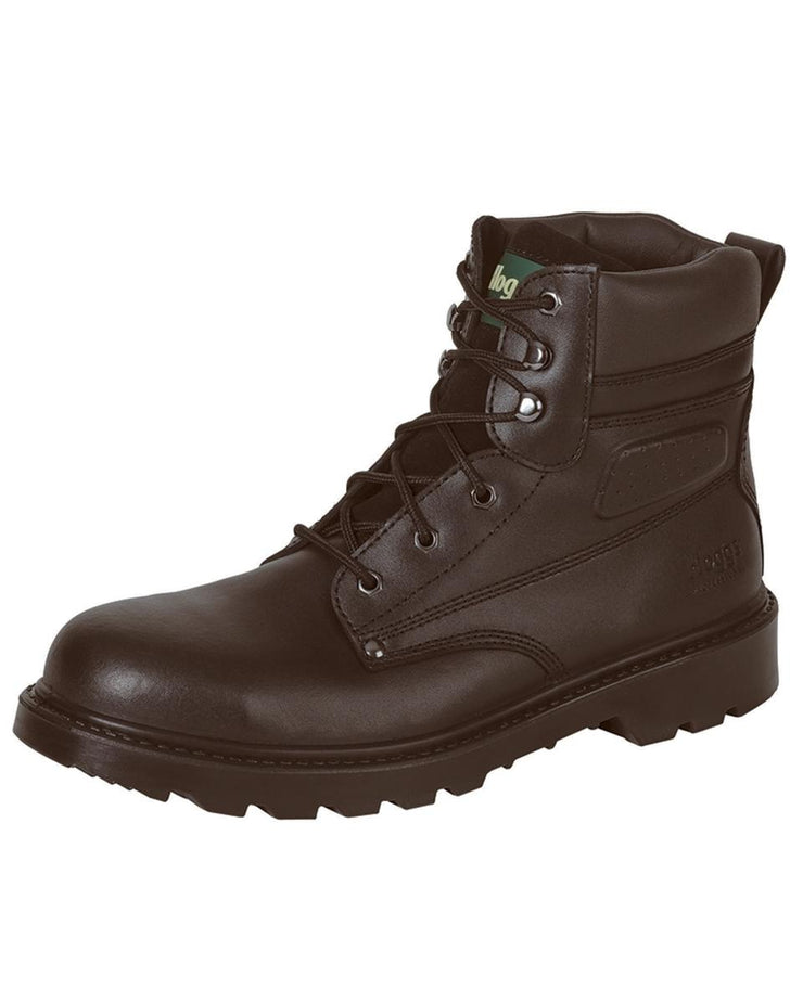 Hoggs of Fife Classic Safety Lace-up Boots -L5 Dark Brown