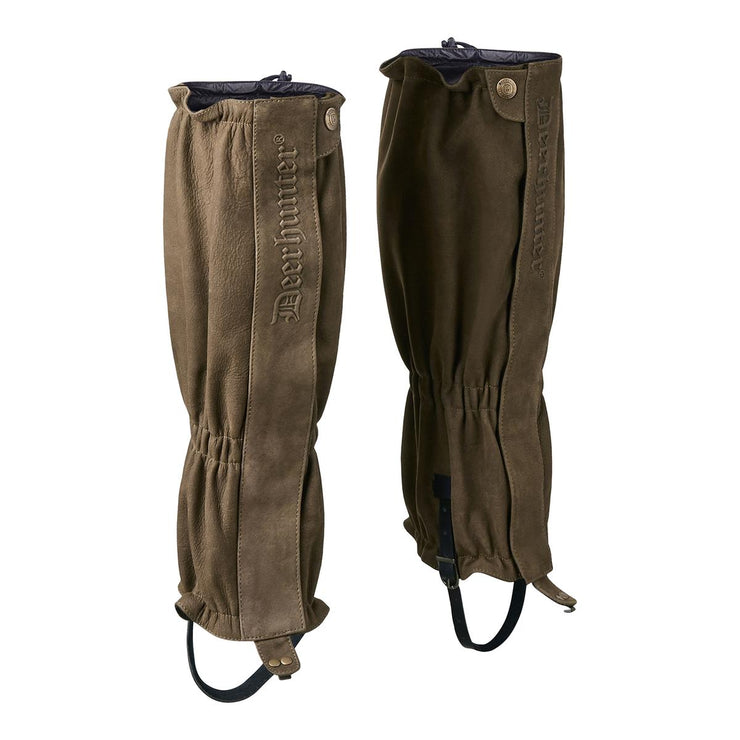 Deerhunter Marseille Leather Gaiters - Brown
