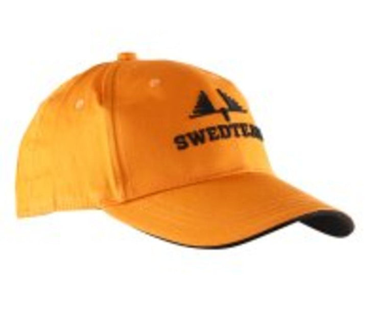 SwedTeam Logo Cap Blaze Orange