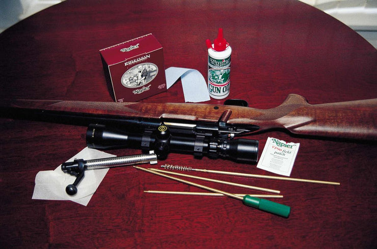 Napier Rifle Cleaning Kit (.22 brushes)