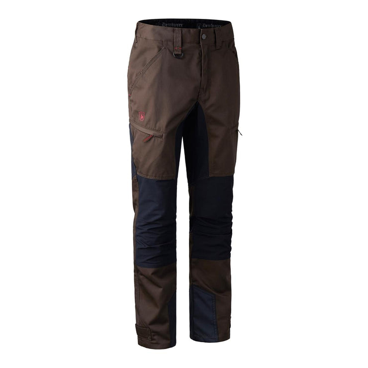 Deerhunter Rogaland Stretch Trousers, contrast - Brown Leaf