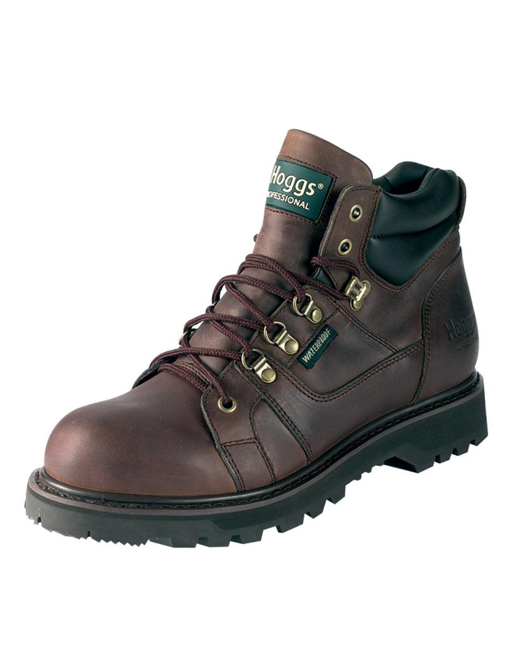 Hoggs of Fife GT3000-WNSL Lace-Up Boots Oiled Brown