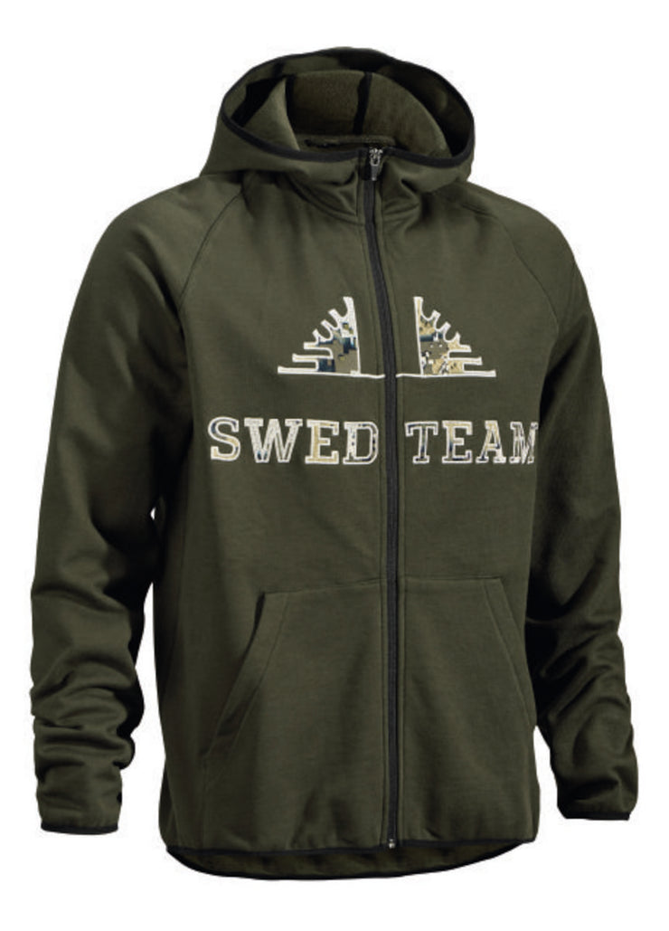 SwedTeam Veil Full-zip hood M Sweater