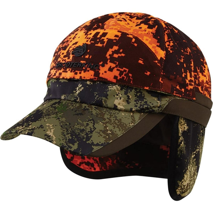 ShooterKing Huntflex Reversible Cap Forest Mist/Blaze