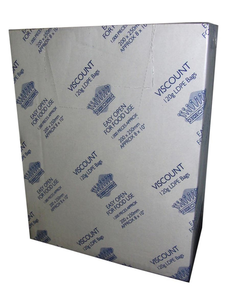 "Viscount 12""x15"" Food Bags (1000pk)"