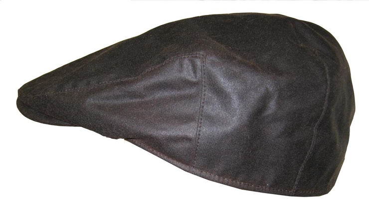 Hoggs of Fife Waxed Cap  Brown