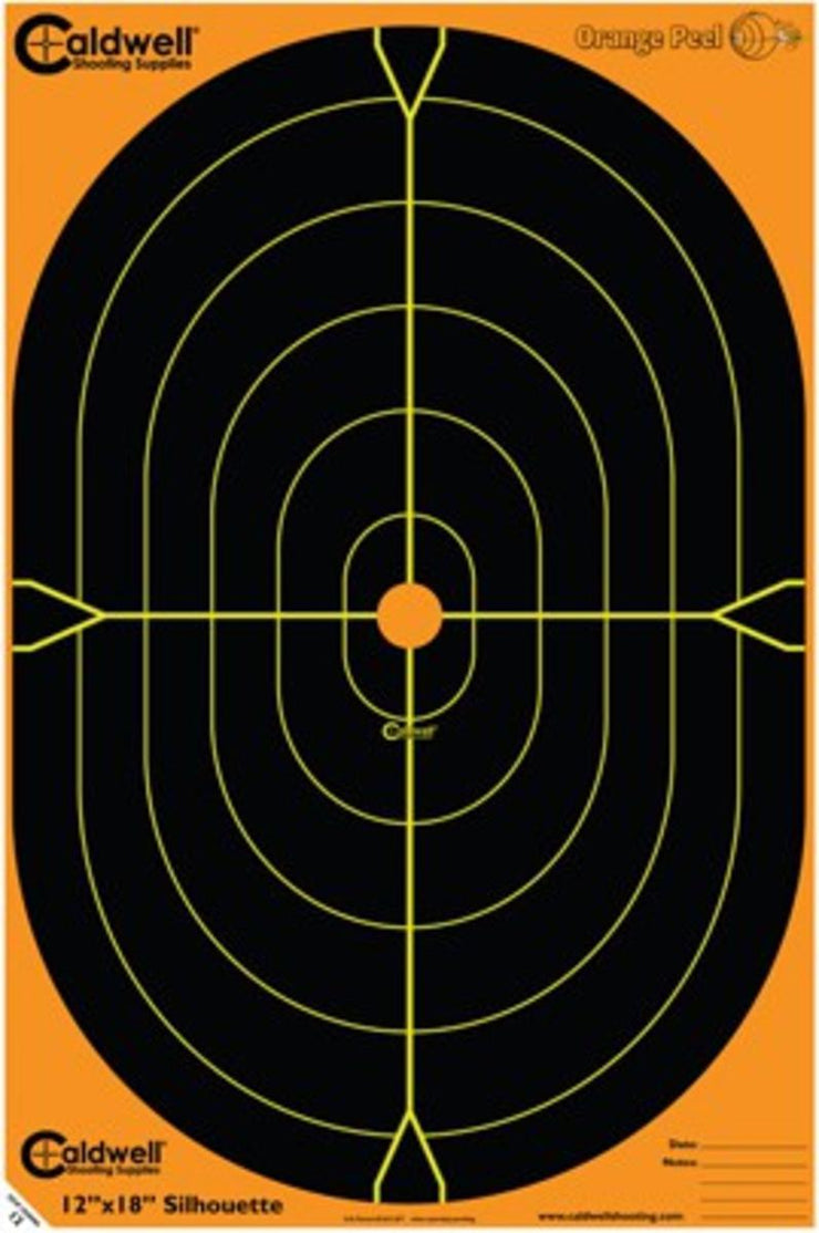 Caldwell Caldwell Orange Peel Oval Target 18 Inch 100 sheets