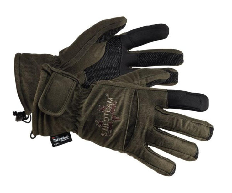 SwedTeam Glove Green Dry M Glove