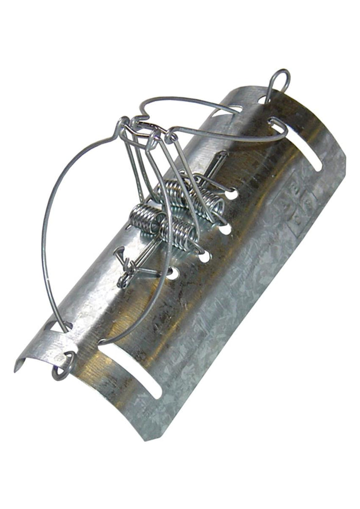 Pest Stop Tunnel/ Duffus Type (Double Catch) Metal Mole Trap