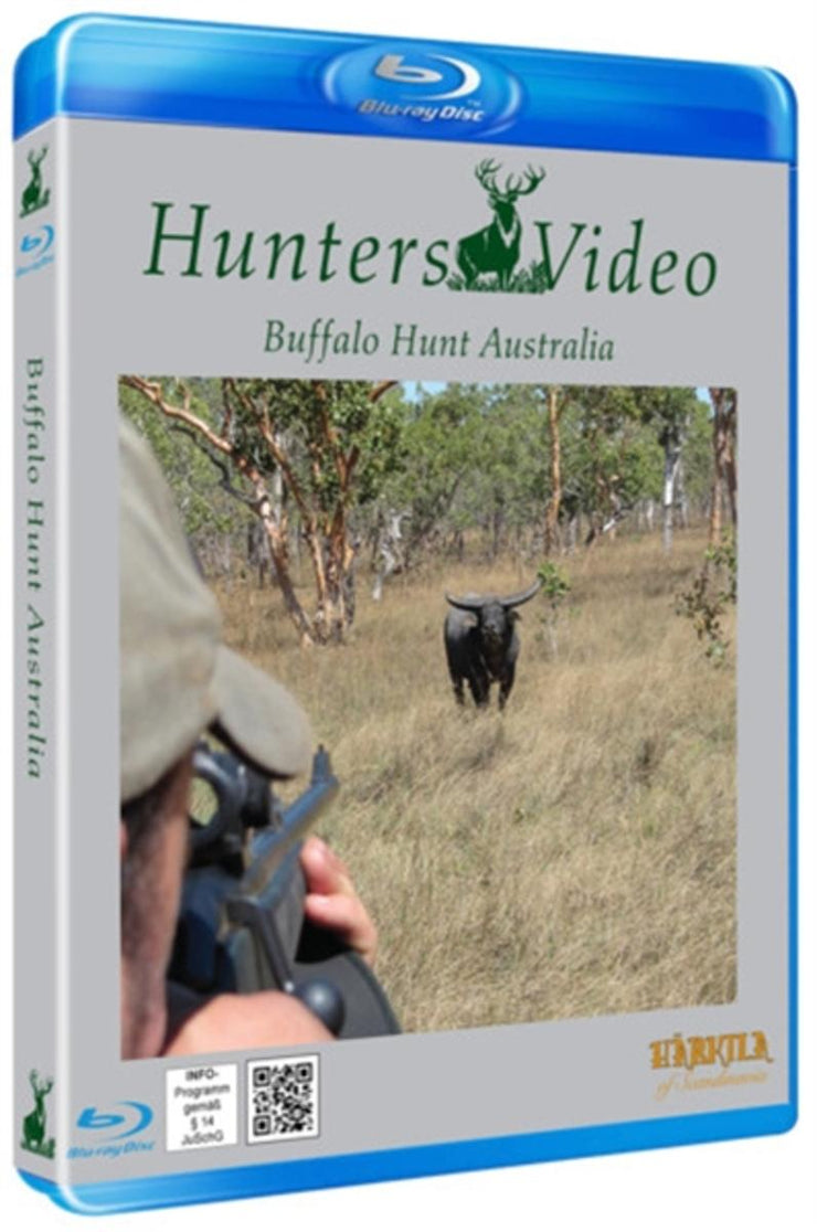 "Hunters Video Blu-Ray ""Buffalo hunt Australia"""