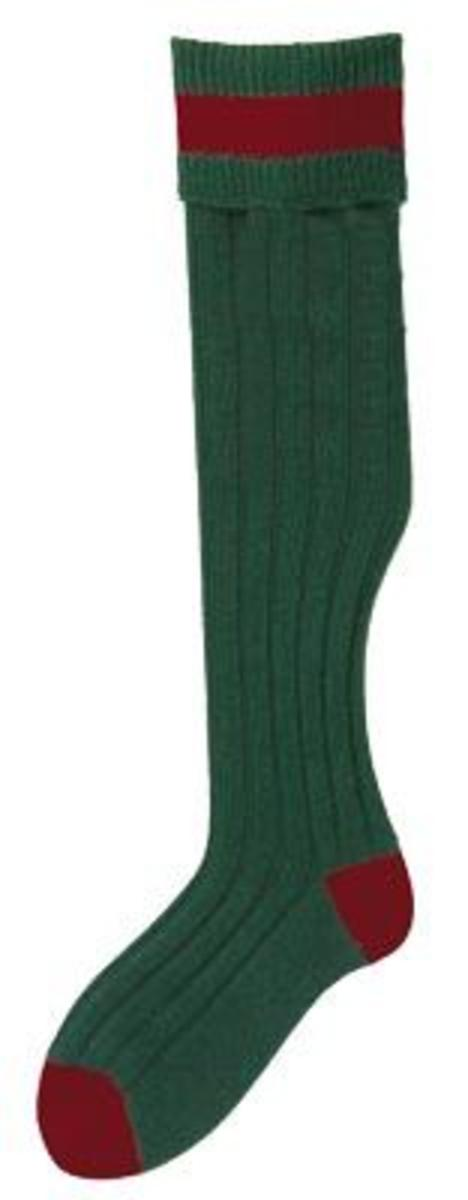 Bisley No.13 Stockings Large Olive/Cassat by Bisley