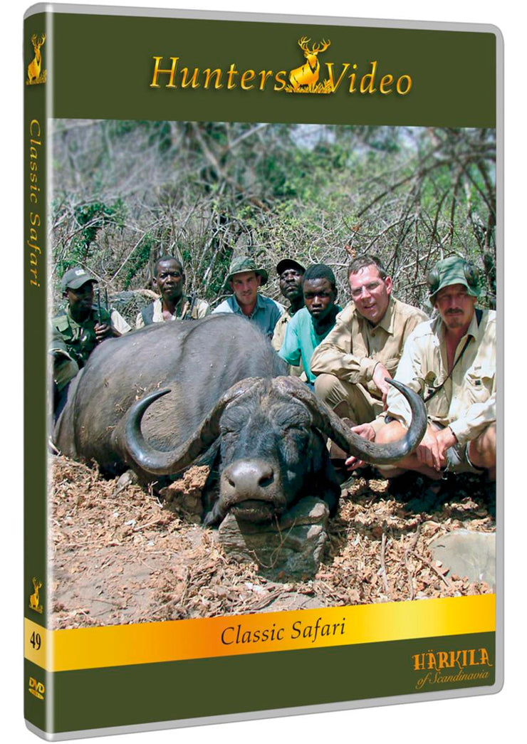 "Hunters Video DVD ""Classic Safari"" DVD multi language"
