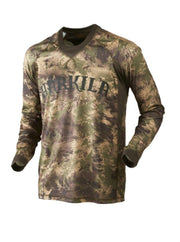 Harkila Lynx L/S t-shirt AXIS MSP Forest Green