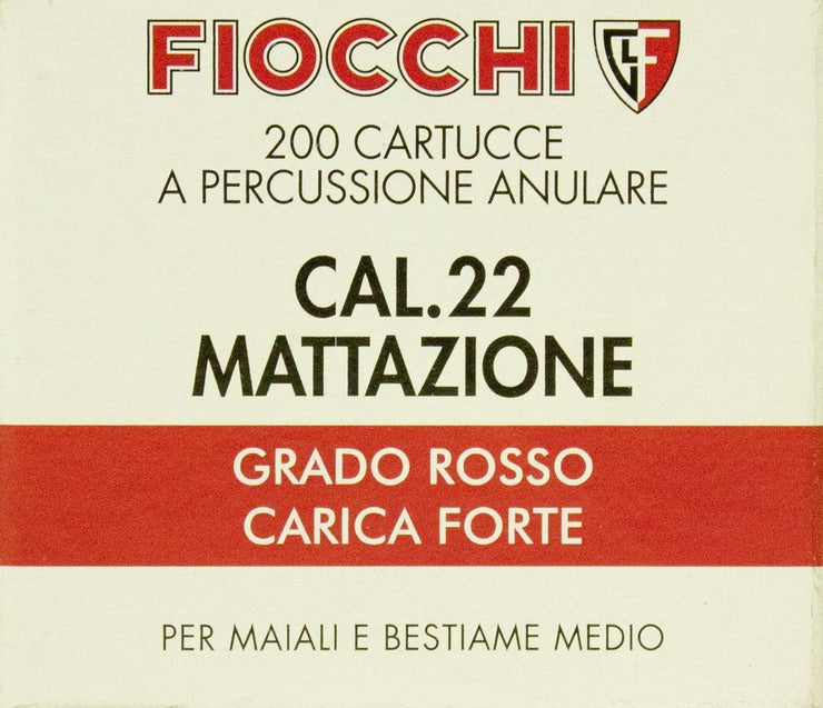 Fiocchi .22 Dummy Launcher Blanks Box of 200