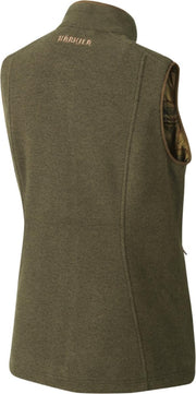 Harkila Sandhem lady fleece waistcoat Dusty lake green