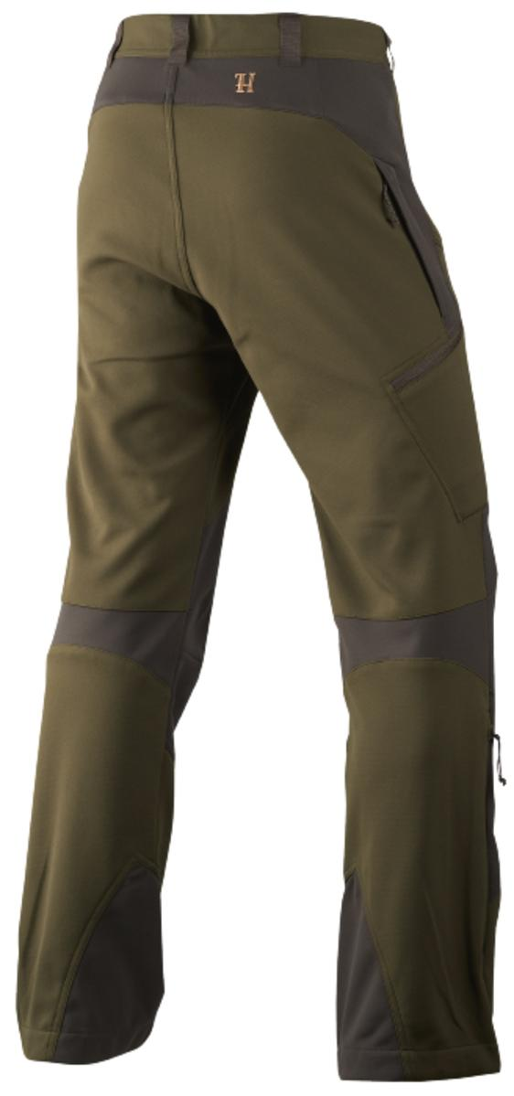 Harkila Lagan trousers Willow green/Deep brown