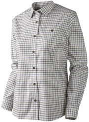 Harkila Lancaster Lady L/S shirt Blackberry check