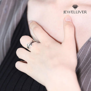 Personalized Engravable Name Ring