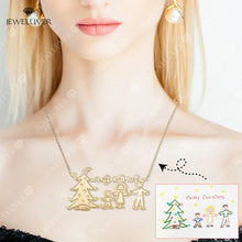 Load image into Gallery viewer, Actual Kids' Drawing Necklaces - Special Jewelry for Moms
