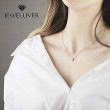 Load image into Gallery viewer, Personalized Initial Heart-Shaped Necklace