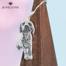 Load image into Gallery viewer, A Pair Of Custom Pet Portrait Earrings