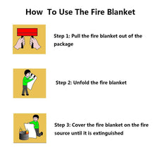 Load image into Gallery viewer, Fire Emergency-Blanket