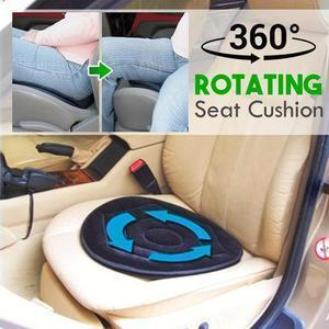 Deluxe Memory Foam Rotating Seat Cushion