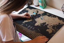 Load image into Gallery viewer, Deluxe Scratch-Off World Map