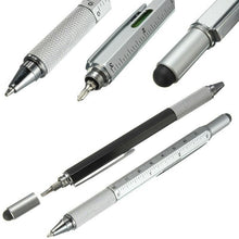 Load image into Gallery viewer, Newly 6 in 1 Multi-function Tool Screwdriver Ballpoint Pen