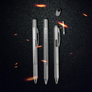 Newly 6 in 1 Multi-function Tool Screwdriver Ballpoint Pen