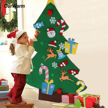 Load image into Gallery viewer, DIY felt christmas tree(Best Gift For Children)