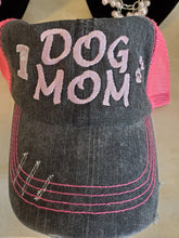 Dog Mom Distressed Truck Hat