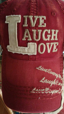 LIVE LAUGH LOVE Trucker Hat