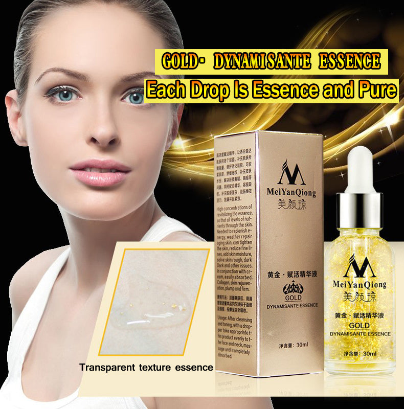 Skin Care Pure 24K Gold Essence Day Cream Anti Wrinkle Face Care Anti Aging Collagen Whitening Moisturizing Hyaluronic Acid - trendyby.com