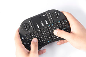 VONTAR i8 Russian English Hebrew Version i8+ 2.4GHz Wireless Keyboard  Air Mouse Touchpad Handheld for Android TV BOX  Mini PC - trendyby.com