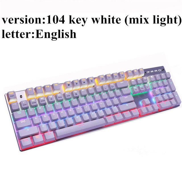 87 keys Blue Switch Gaming Keyboards - trendyby.com