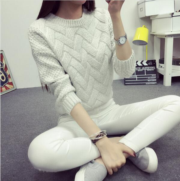 Pullover Female Casual Sweater - trendyby.com