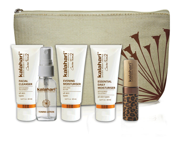 KALAHARI JOURNEY KIT with FREE Travel Bag