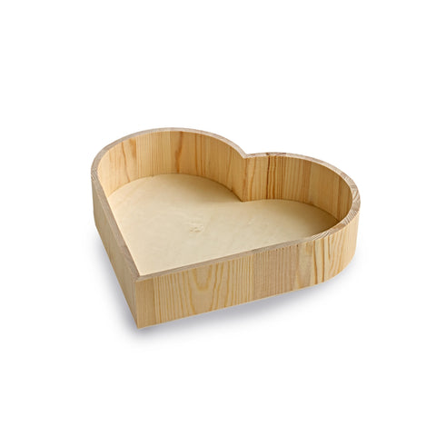 Wooden Heart Hamper