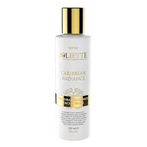 Joliette Caribbean Radiance Coconut Facial Cream Wash