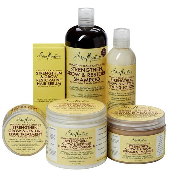 Shea Moisture Jamaican Black Castor Oil Strengthen/Grow and Restore Shampoo 506 ml