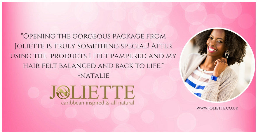 Joliette Caribbean Inspired Hair and Skin Products