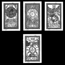 Linocut Prints: The Major Arcana
