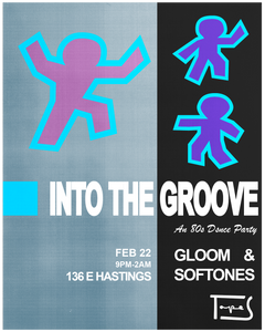 INTO THE GROOVE: An 80s Dance Party