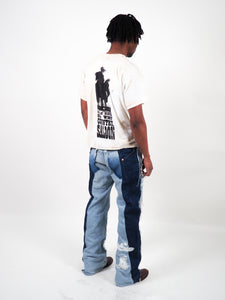 TATTERED RODEO JEANS