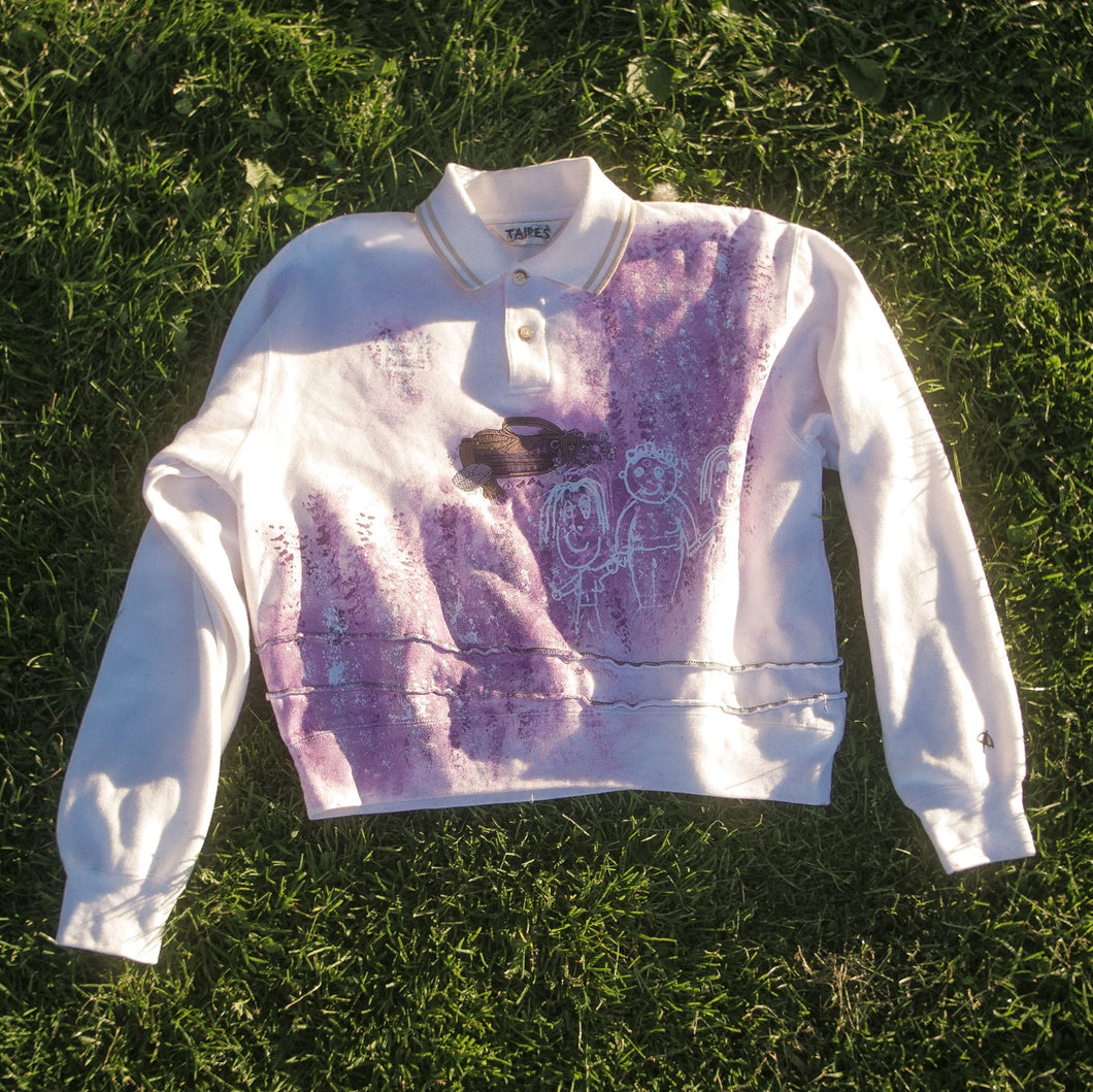 CARE CLUB GOLF SWEATER